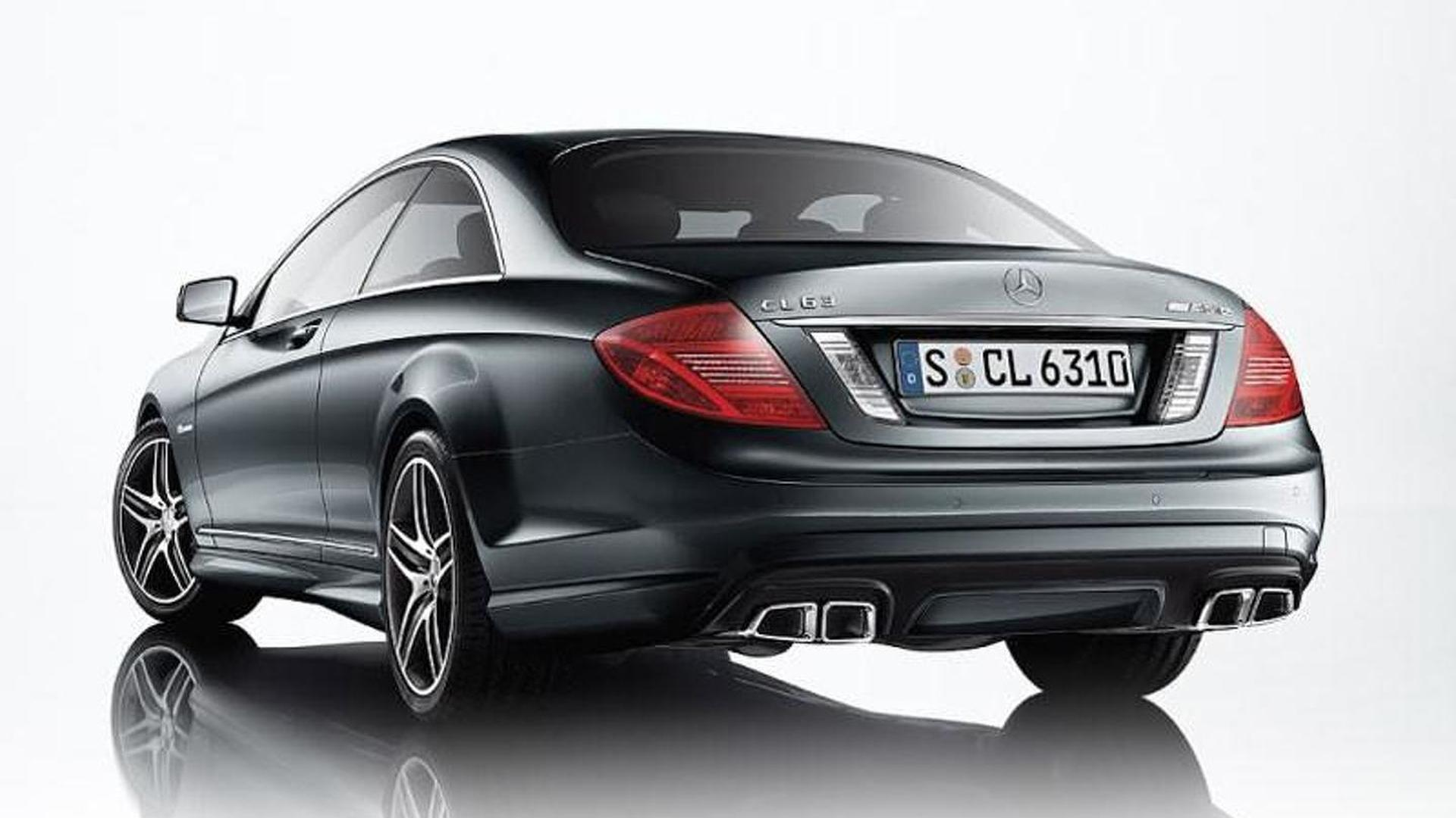Mercedes CL65 CL63 AMG images leaked