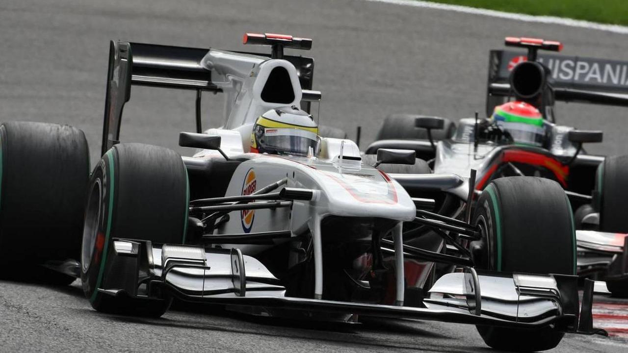 Pedro de la Rosa (ESP), BMW Sauber F1 Team - Formula 1 World Championship, Rd 13, Belgium Grand Prix, 29.08.2010 Spa, Belgium