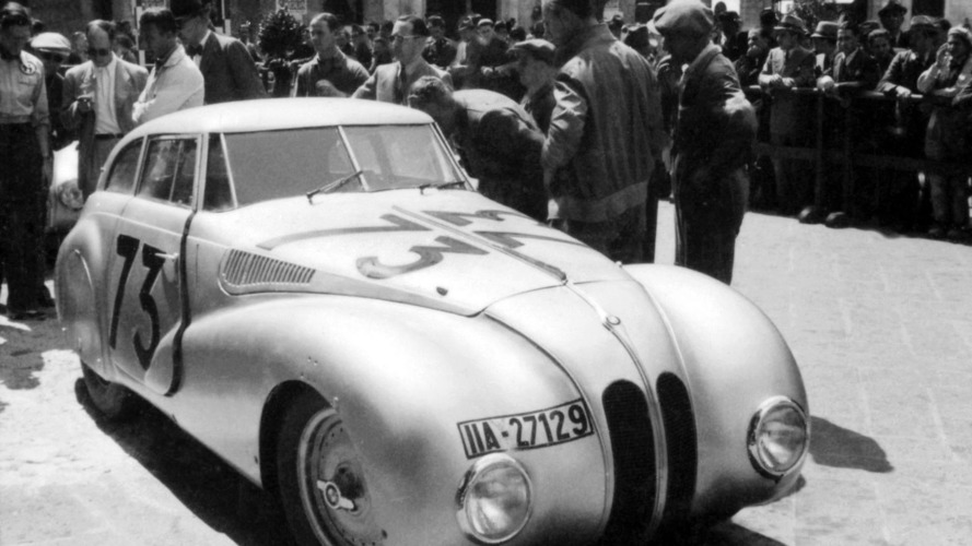BMW 328 Mille Miglia Concept Coupé to be Unveiled at Concorso d'Eleganza Villa d'Este 2010