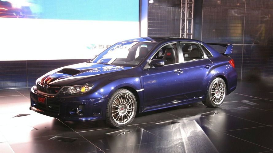 2011 Subaru WRX STI Sedan Revealed