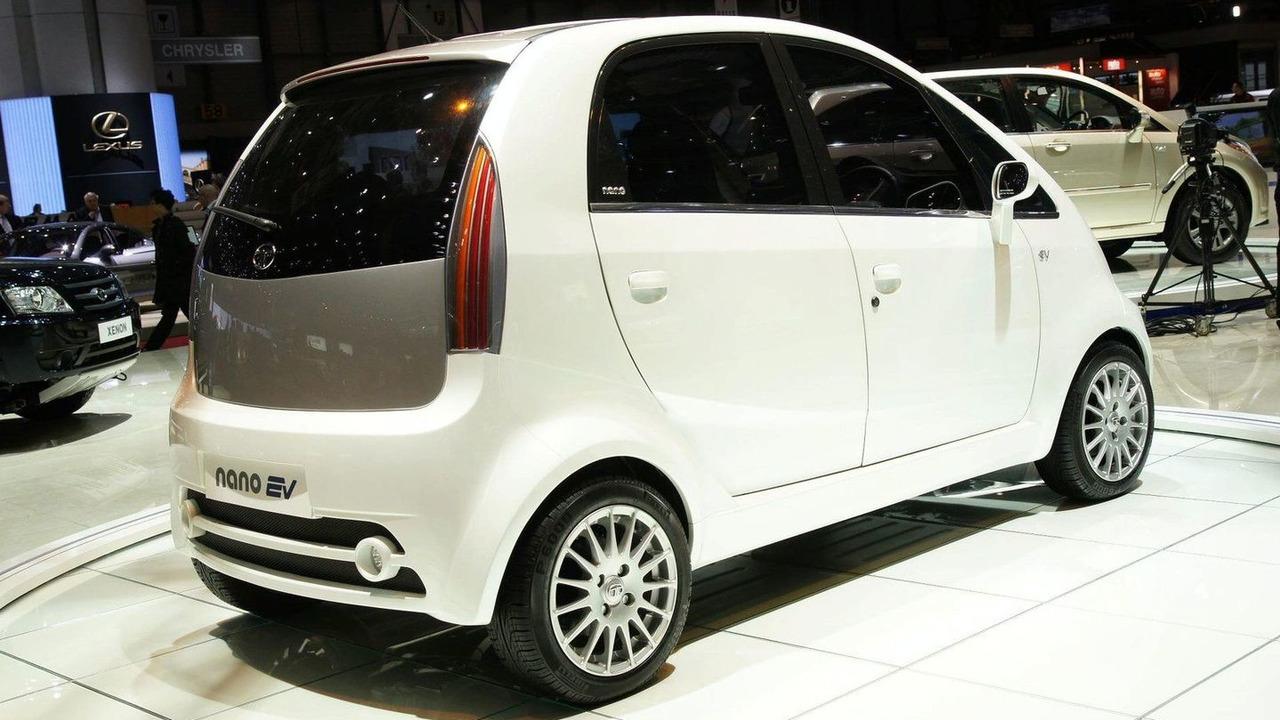 Tata Nano EV live in Geneva 08.03.2010