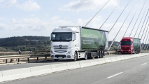Mercedes-Benz Actros Leading in Road Efficiency