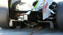 Diffuser of the Brawn GP
