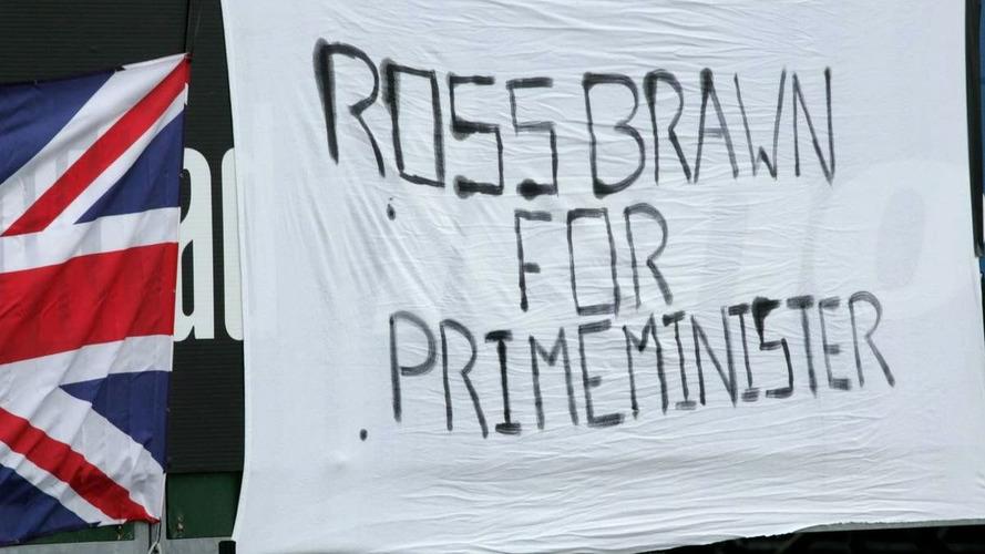 Ross Brawn (GBR) Team Principal, Brawn GP, British Grand Prix, Sunday Podium, Silverstone, England  21.06.2009