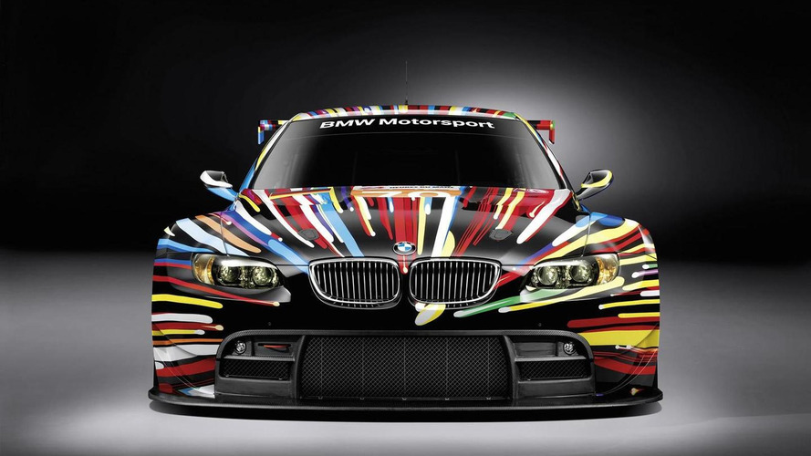 Jeff Koons' BMW Art Car officially unveiled [Video]