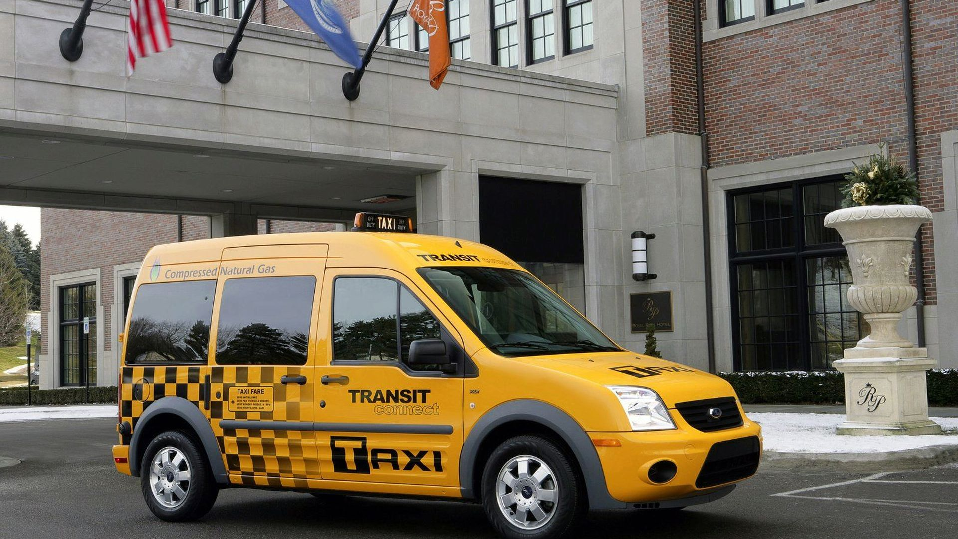 2011 Ford Transit Connect Taxi - America's New Yellow Cab