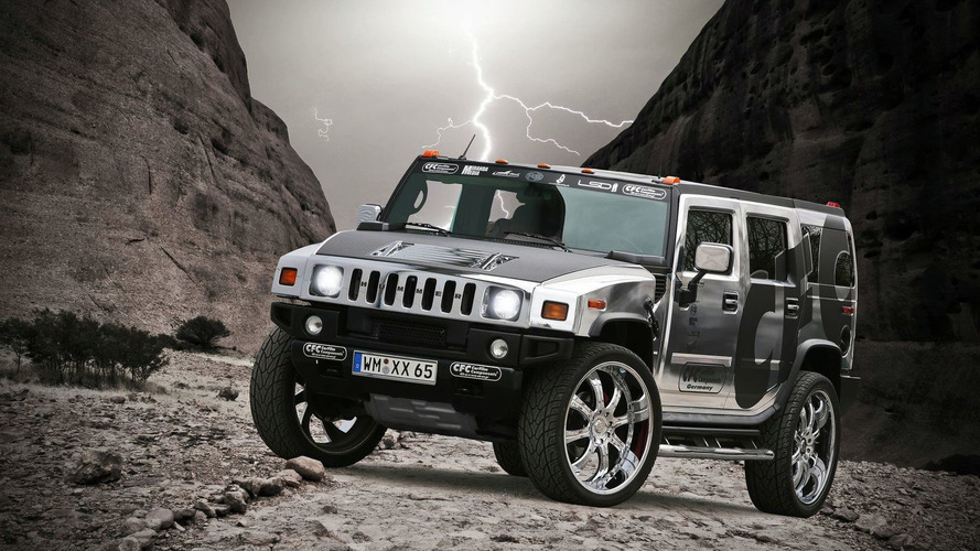Hummer H2 Gets Chrome Wrap - Art or Abomination?