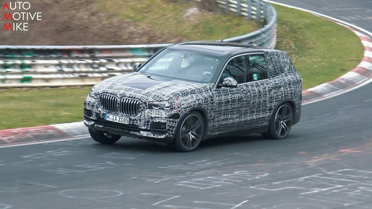 2019 BMW X5 spy