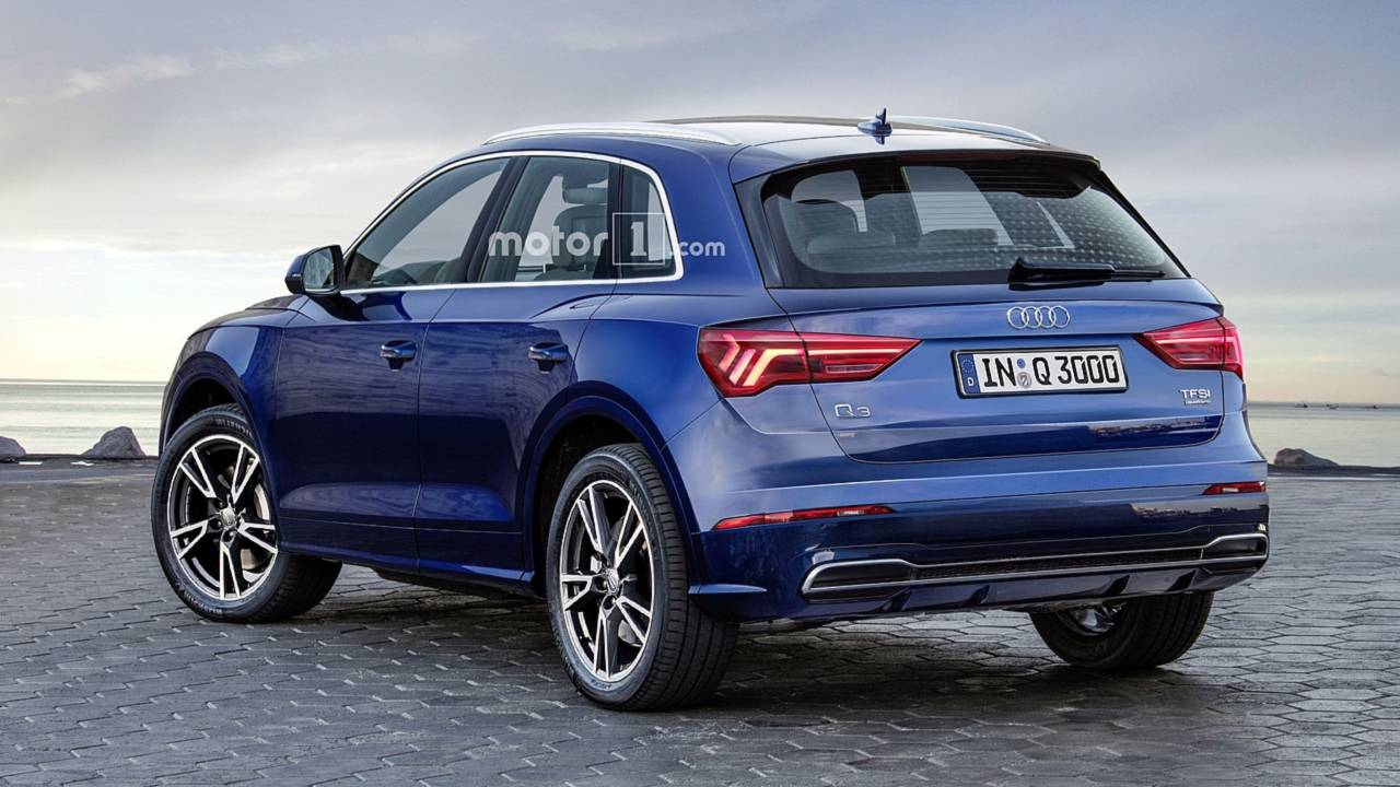 2019 Audi Q3 render | Motor1.com Photos