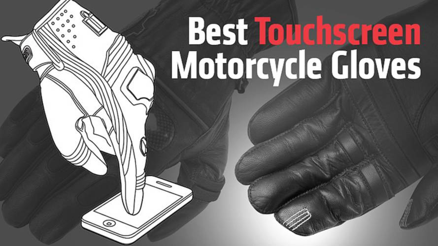 Best Touchscreen Motorcycle Gloves