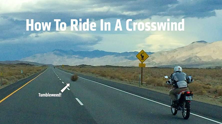 How To Ride In A Motorcycle In A Heavy Crosswind