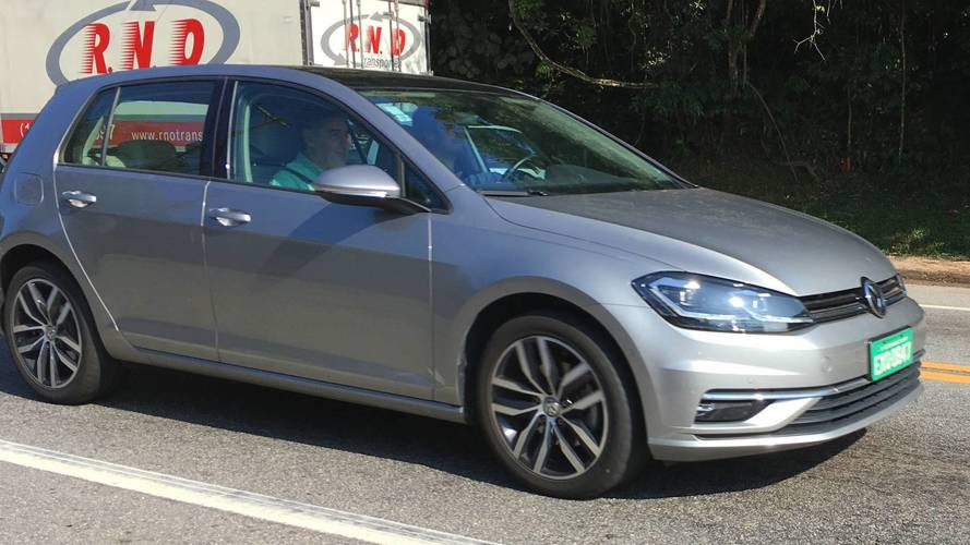 Flagra VW Golf 2019
