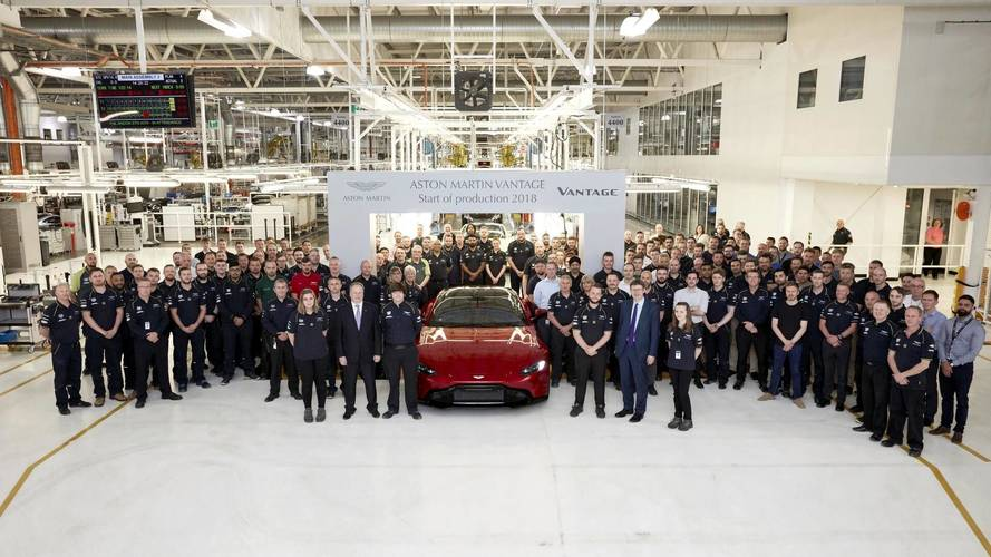 Aston Martin kicks off Vantage production