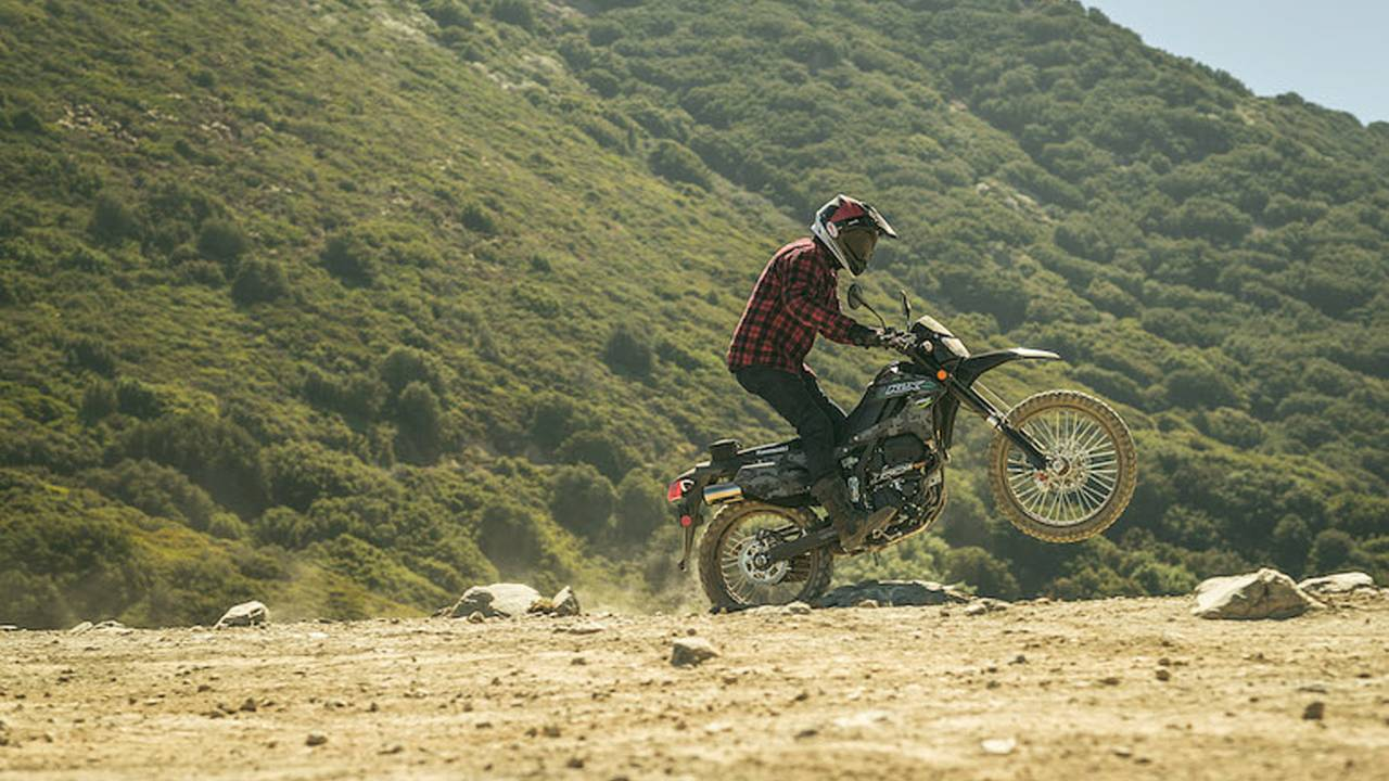 2018 Kawasaki KLX250 – First Ride