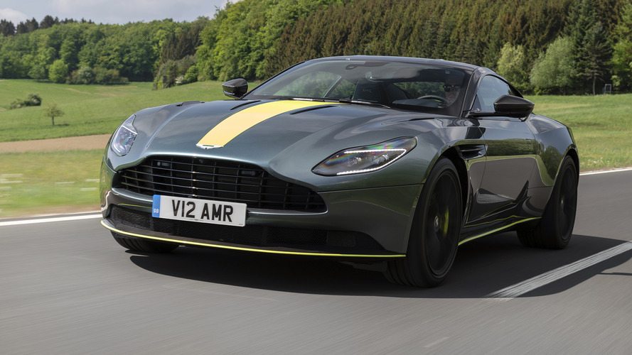 2019 Aston Martin DB11 AMR First Drive: Rich Get Richer