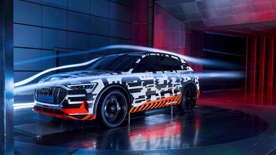 Audi e-tron: Die Aerodynamik