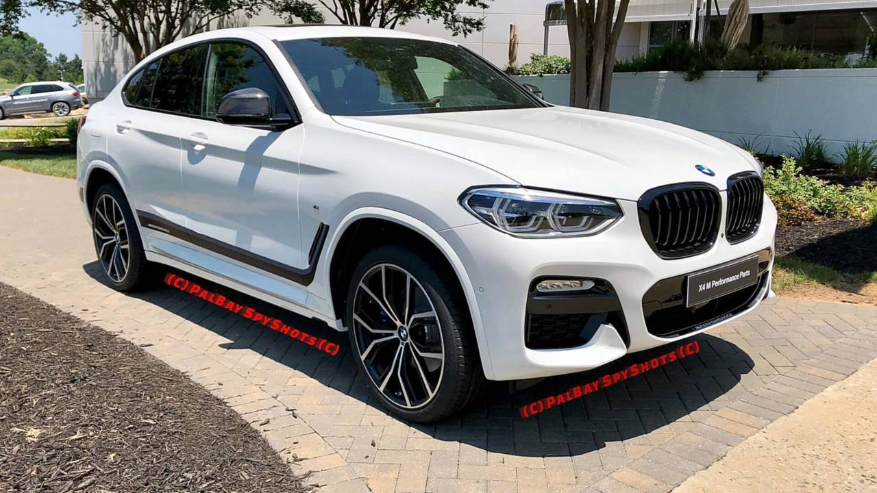 2019 BMW X4 with M Performance Parts