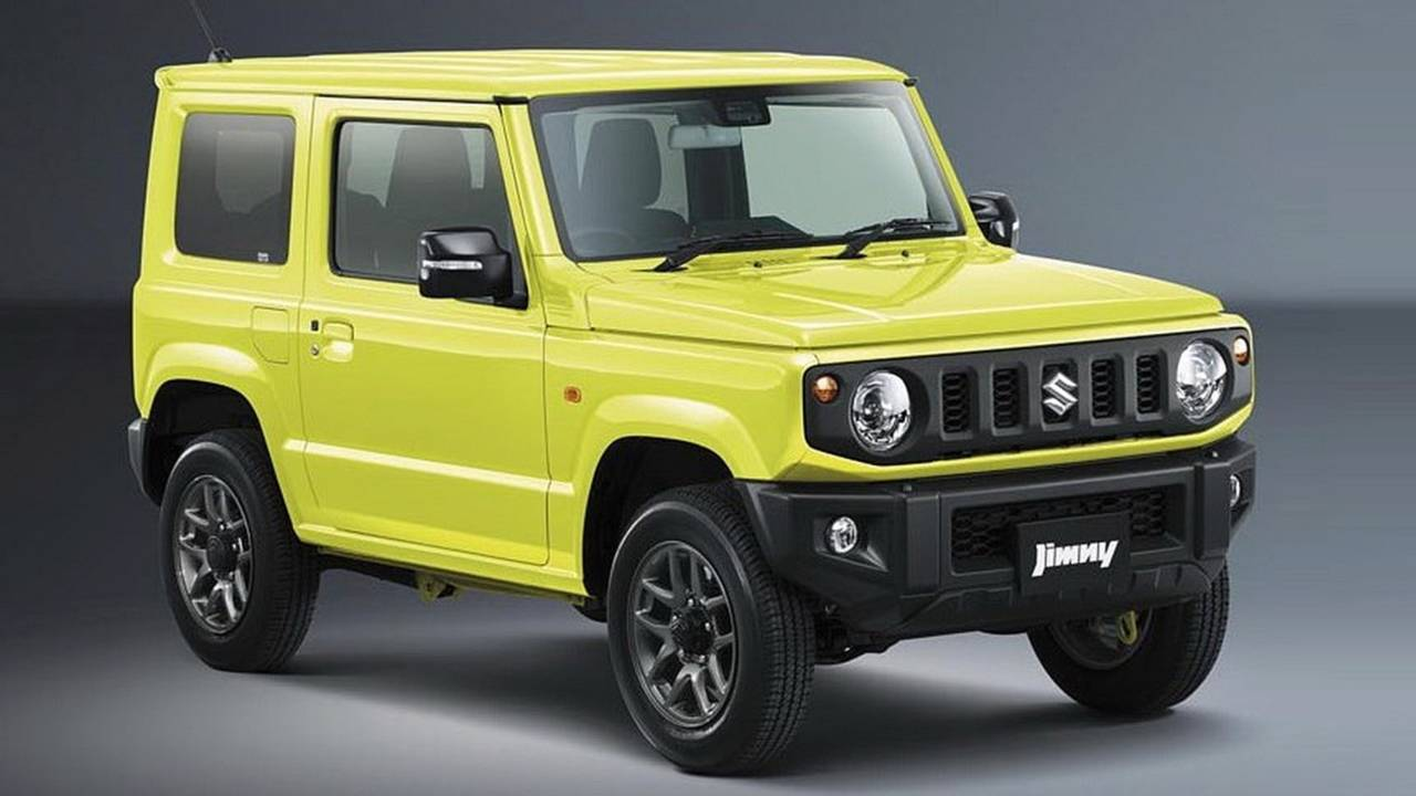 2019 Suzuki Jimny Official Photos Reveal Cute And Boxy Off Roader