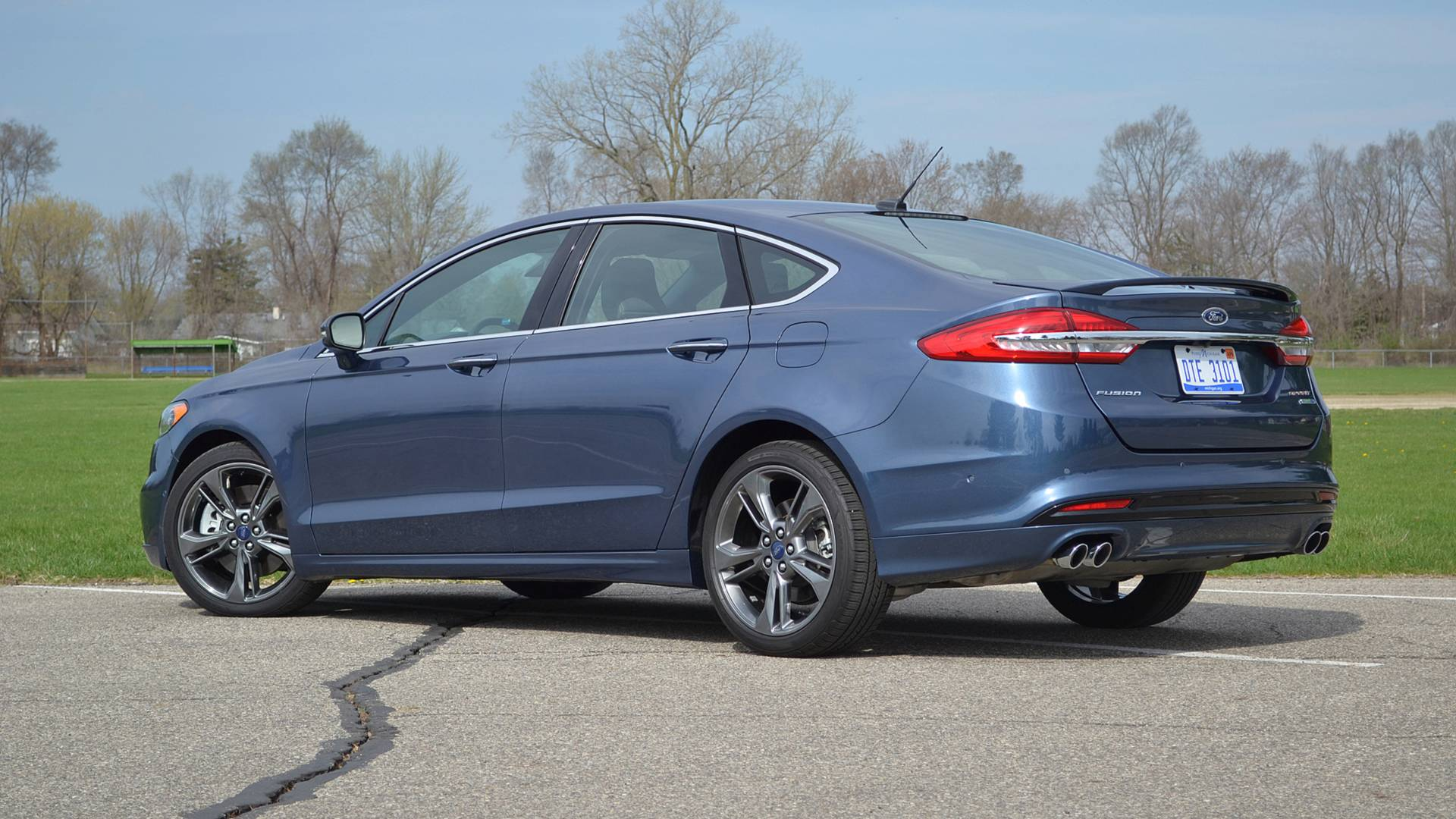 2018 Ford Fusion Sport Review Relaxed Despite Its Name