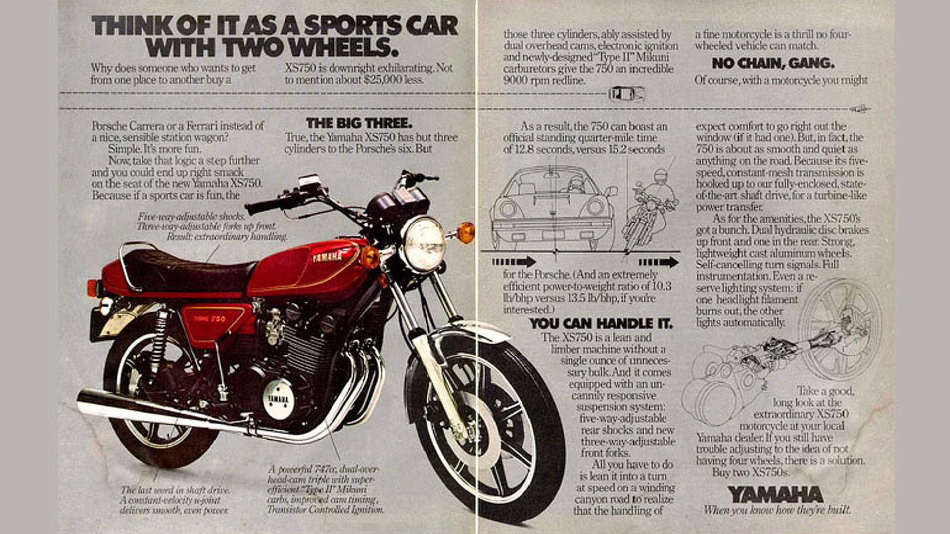 Great Triples in Motorcycle History