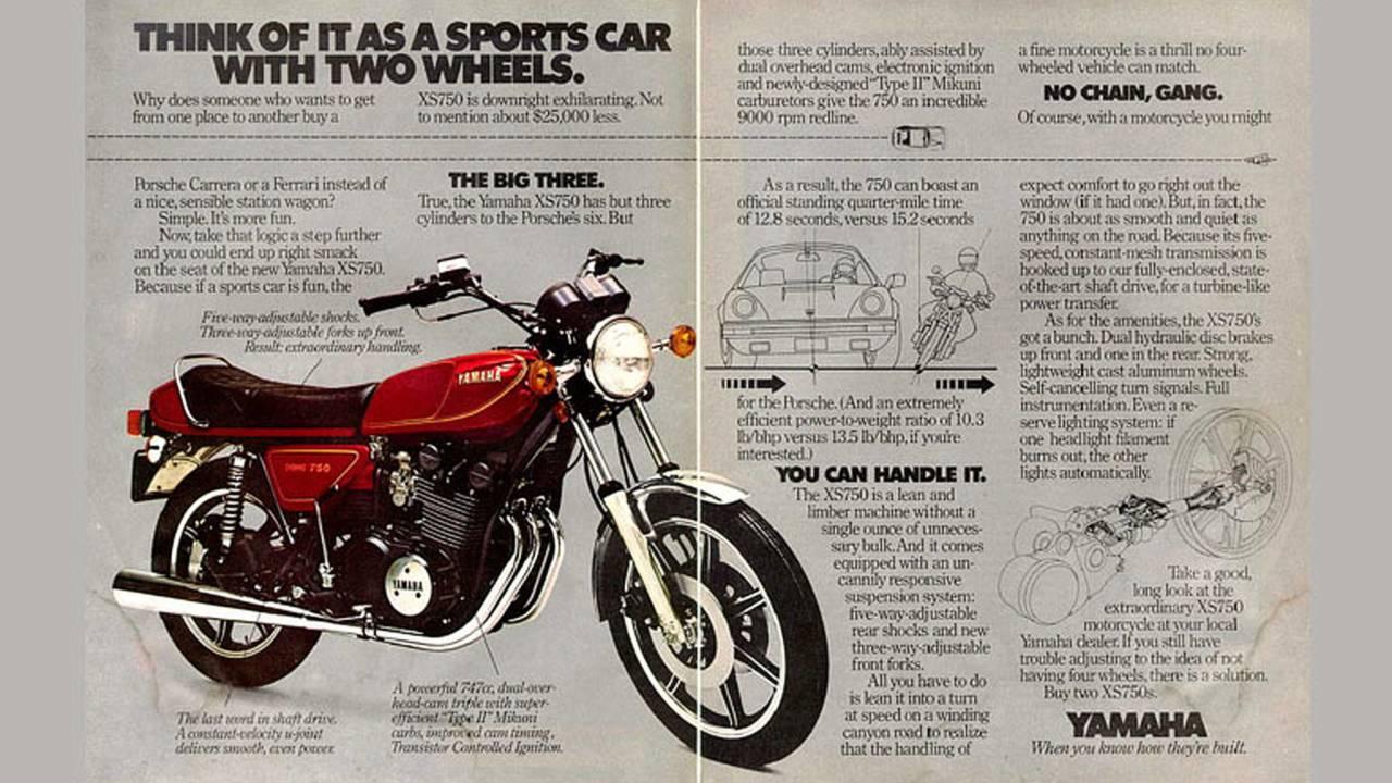 Great Triples in Motorcycle History