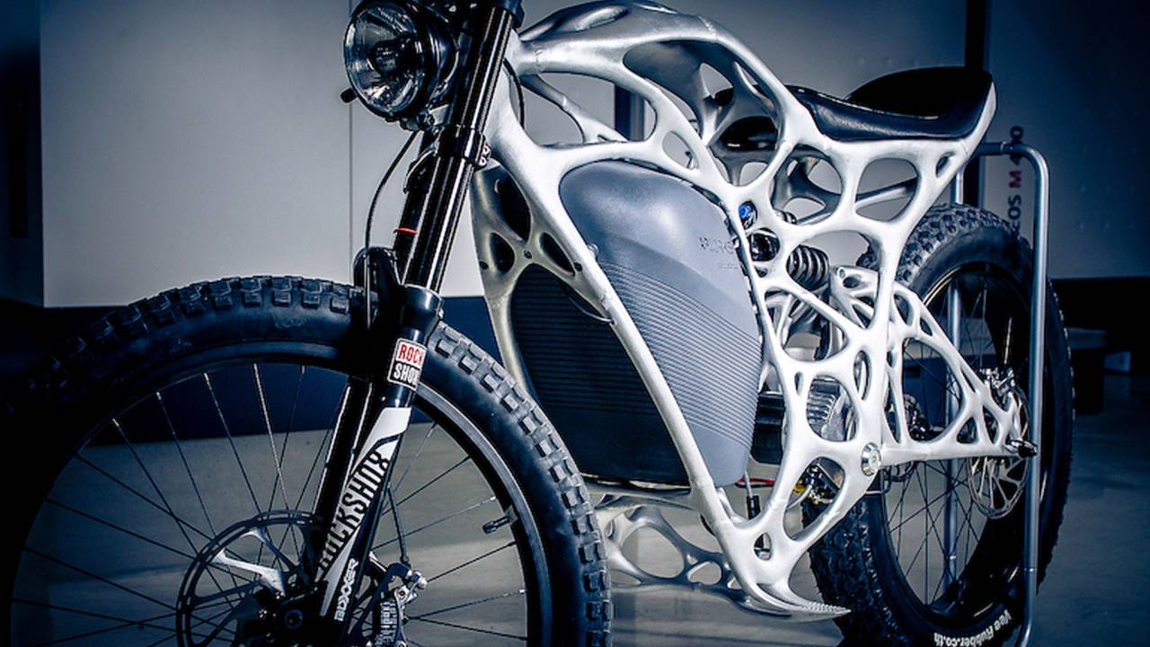 Company Claims First 3D-Printed Motorcycle