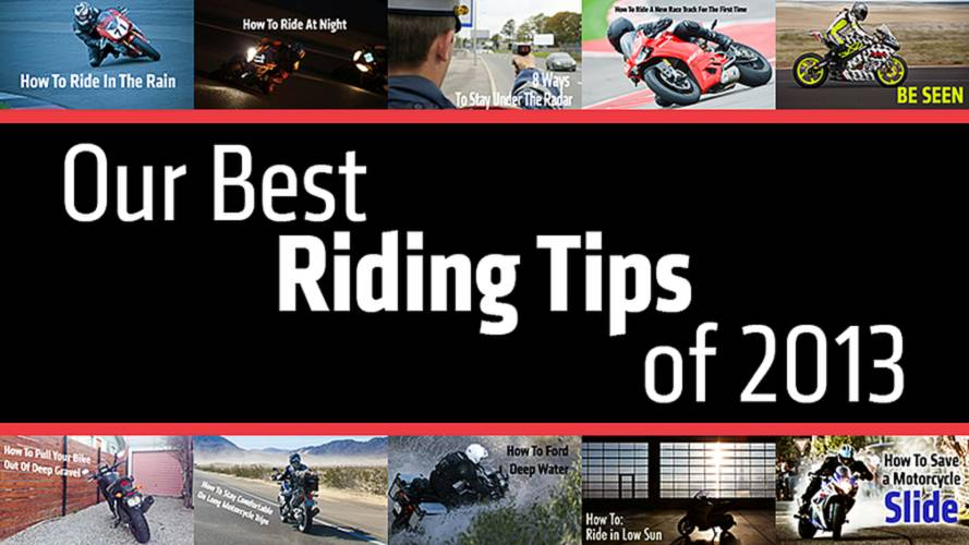 Our Best Riding Tips of 2013