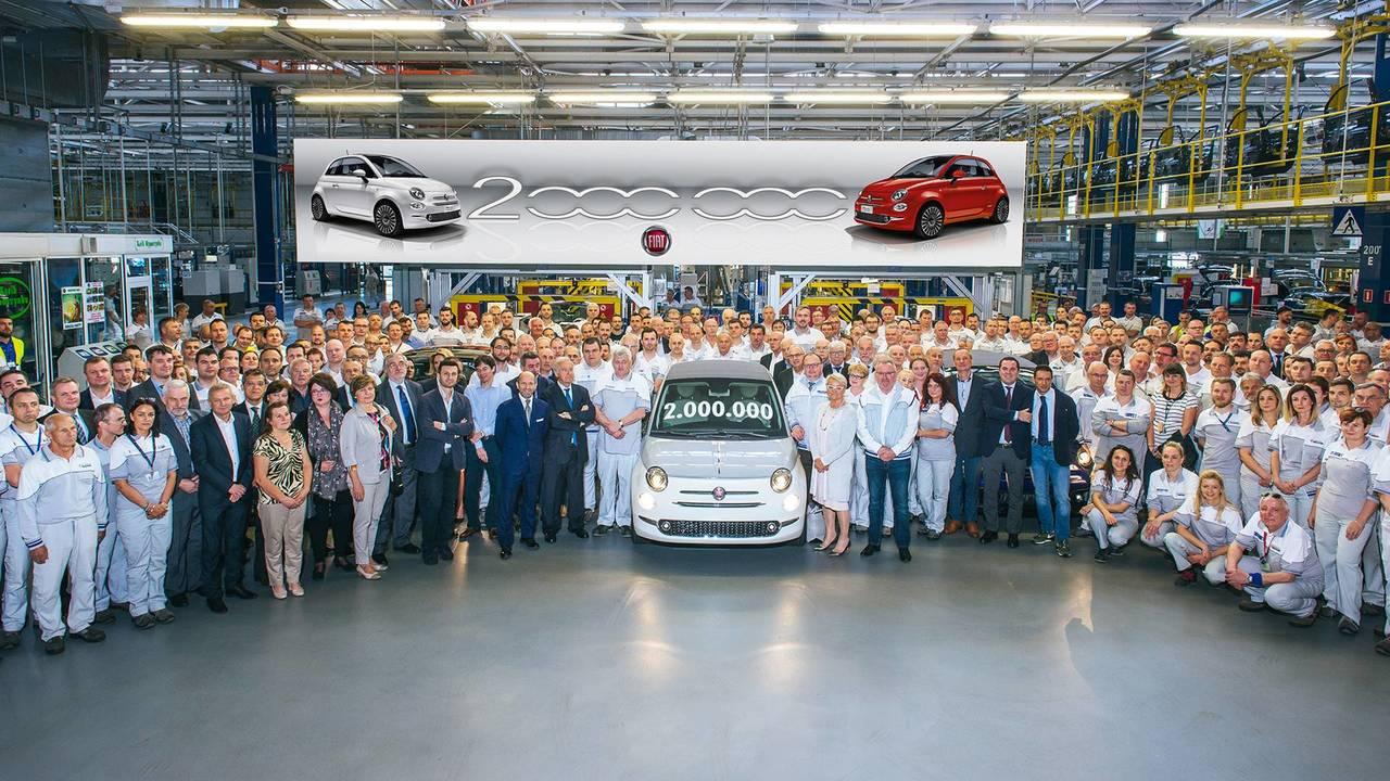 Fiat 500 due milioni