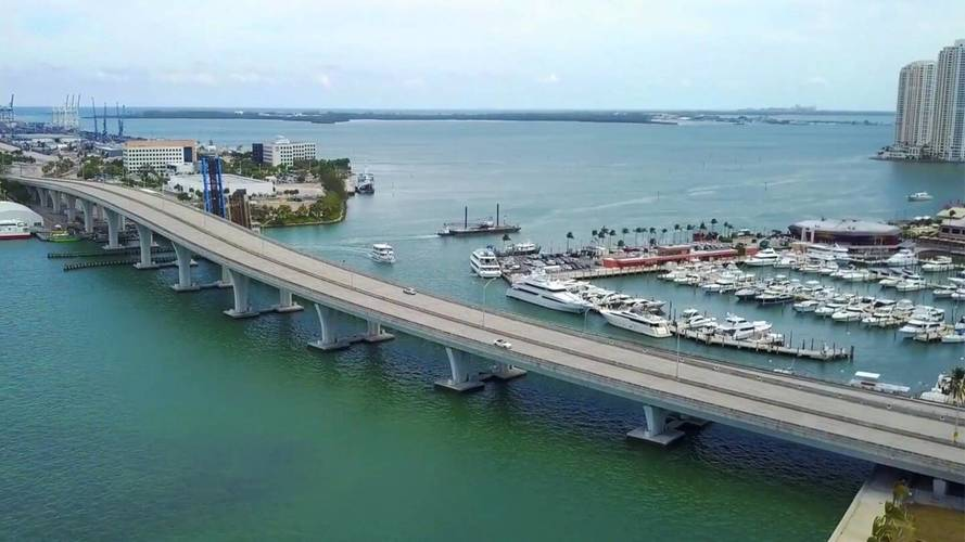 Proposed Route Of Miami F1 Race Will Go Over Water