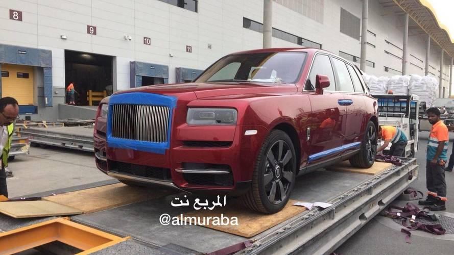 Úgy tűnik, van, aki már a bemutató előtt megkapta a Rolls-Royce Cullinant