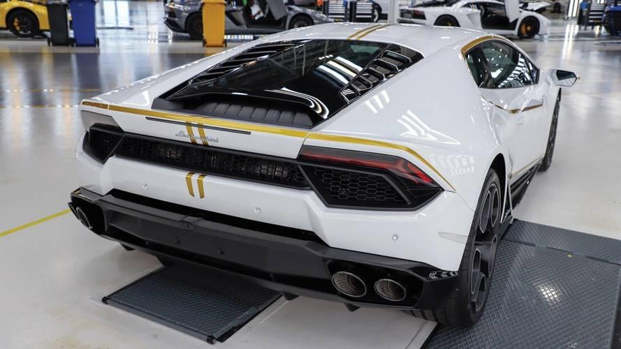 Lamborghini Huracan Signed By Pope
