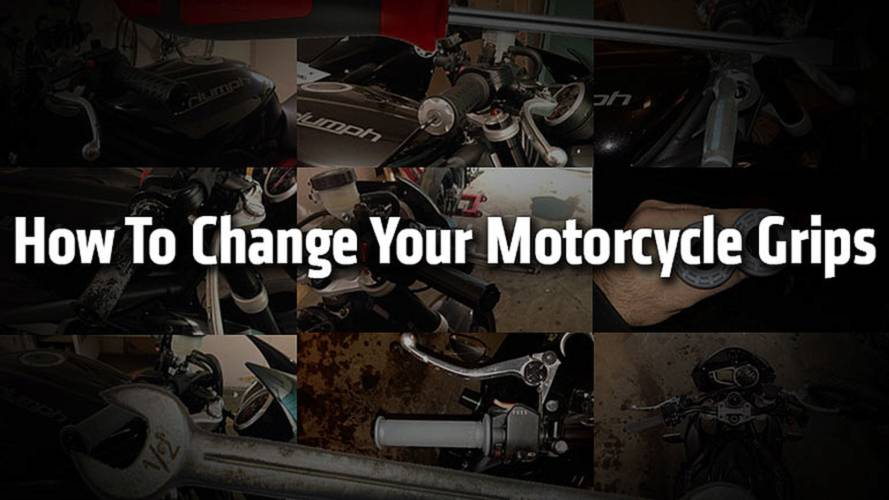 How To Change Your Motorcycle Grips