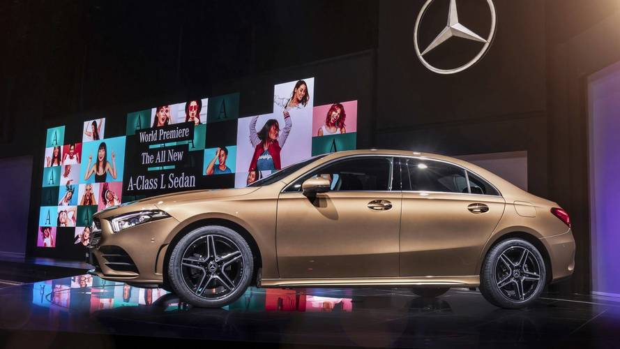 Mercedes A-Class Saloon debuts in China