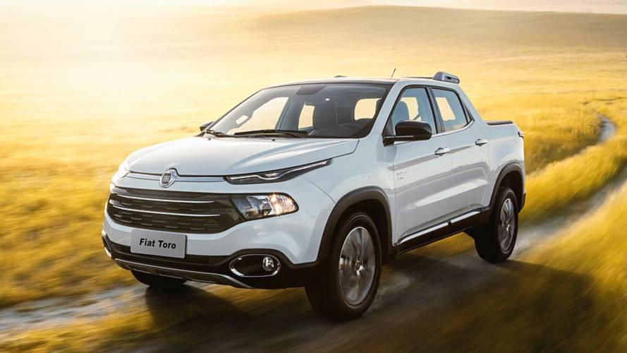 Vendas de picapes em abril: Fiat Toro tem melhor resultado no ano