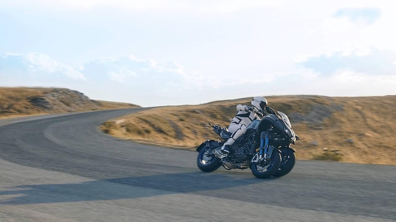 Yamaha Unveils Leaning 3-Wheeled Niken