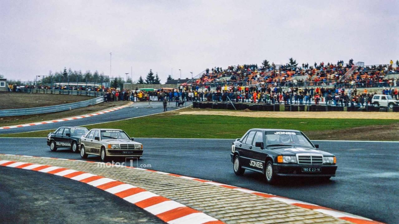 Senna Dominates At The 'Ring