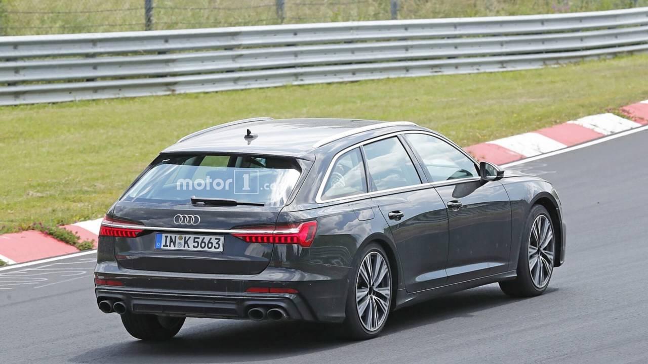 Audi S6 Avant 2018 fotos espía