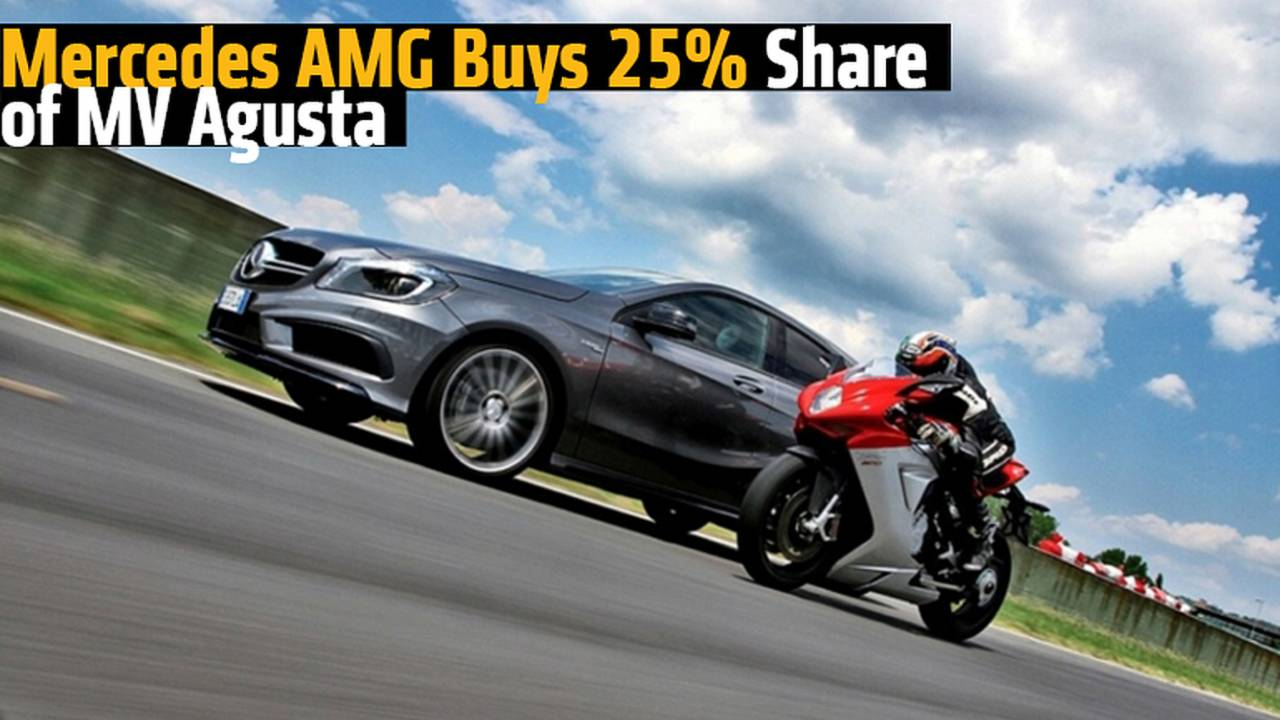 Mercedes AMG Buys 25% Share of MV Agusta