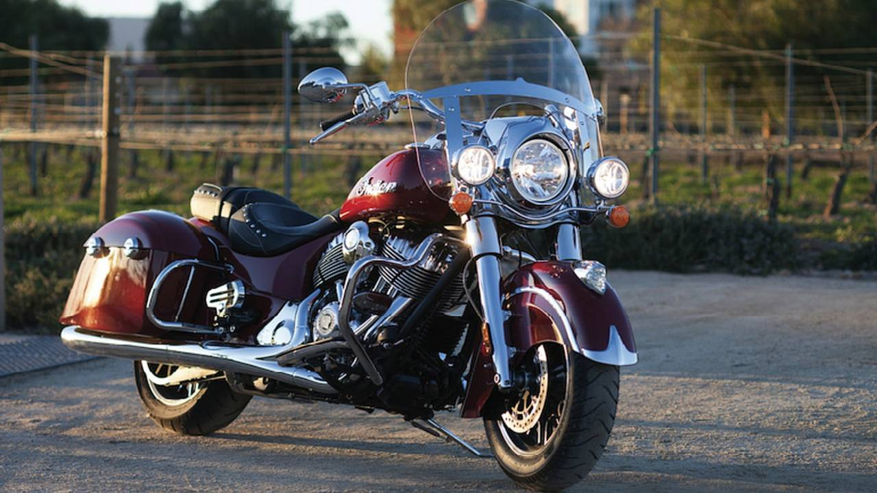Indian Pulls Cover Off New Springfield Model