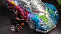 Hand-Painted Pagani Zonda S Art Car