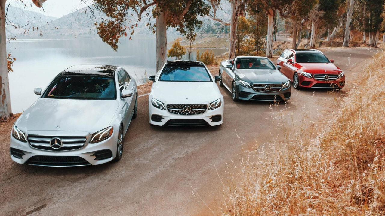 2019 Mercedes E-Class family