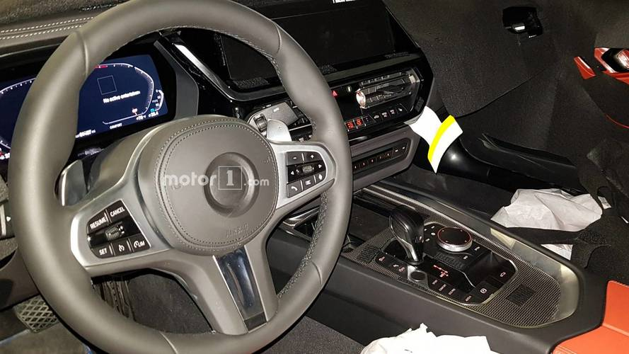 La future BMW Z4 dévoile son intérieur