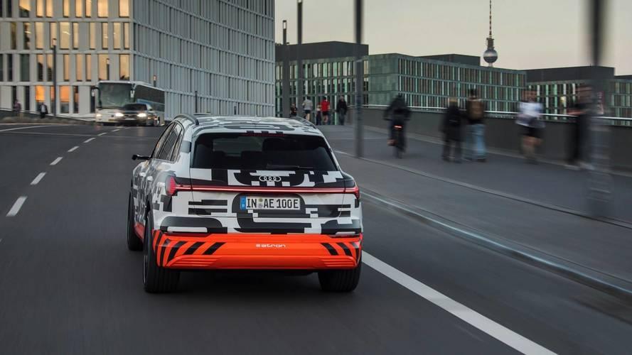 Audi e-tron, i test sull'autonomia