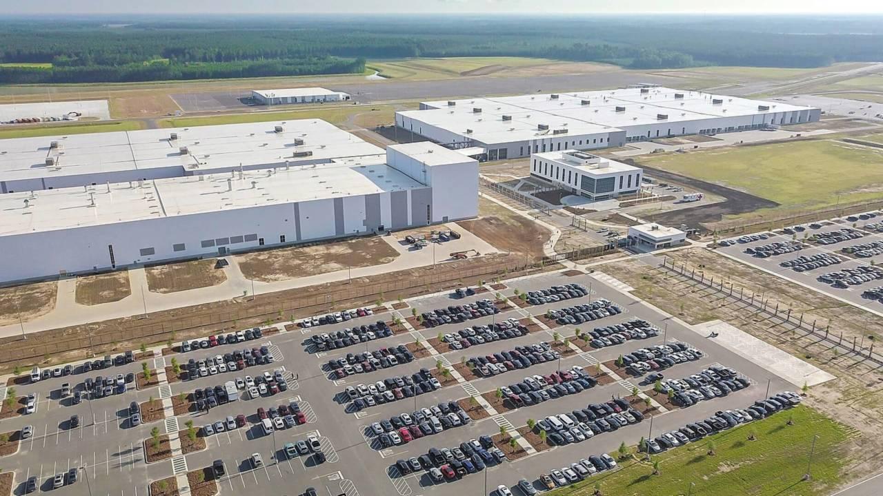 New Volvo factory in Charleston, South Carolina