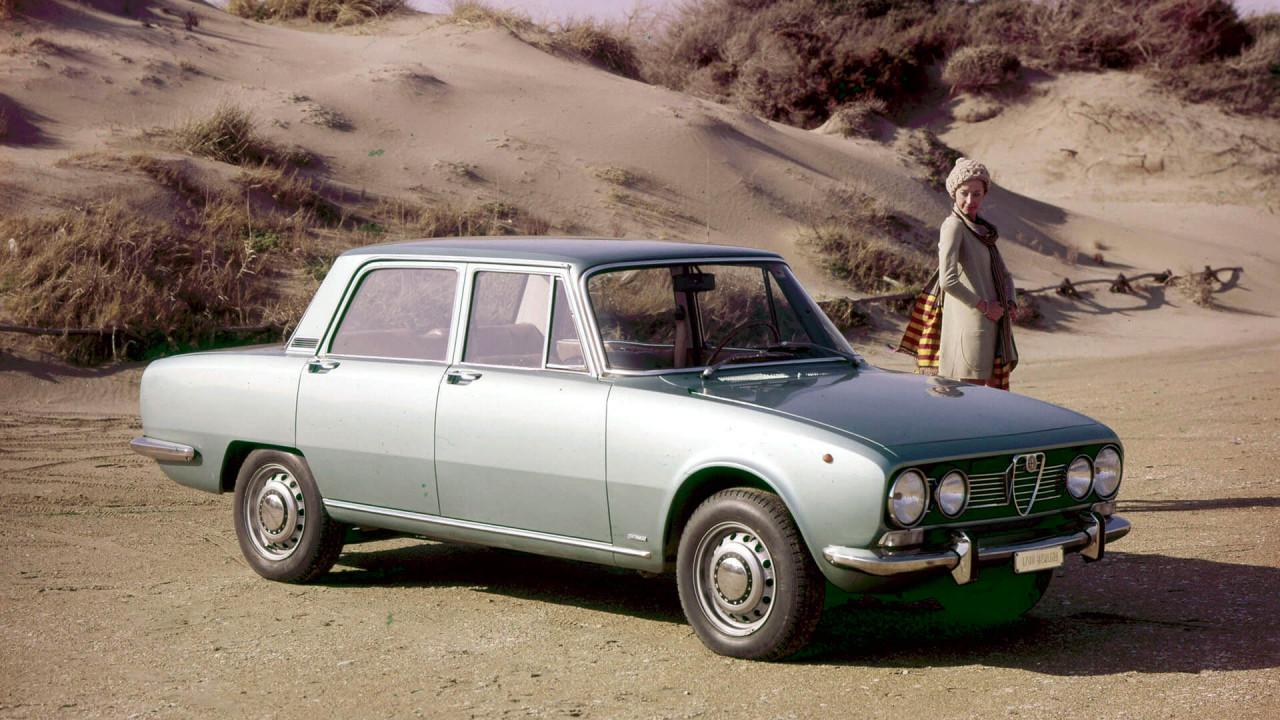 50 Jahre Alfa Romeo 1750 Berlina