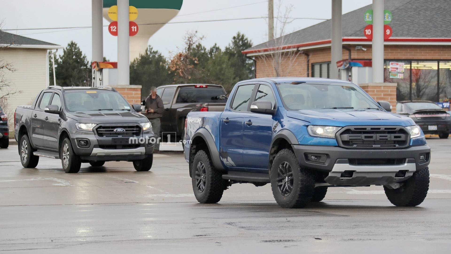 Ford Ranger Wildtrak Caught Testing In U S With Ranger Raptor