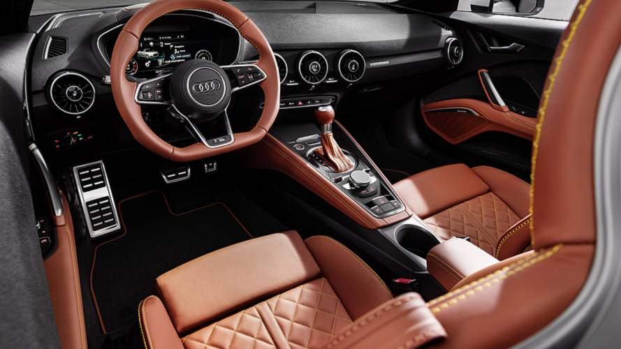 Audi TT Gets More Standard Features Refined Exterior Design - Audi tt