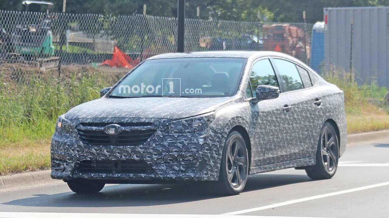 Next Subaru Legacy Spy Shots