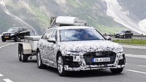 2020 Audi A6 Allroad spy photos