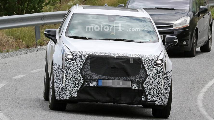 2020 cadillac xt5 spy photos  motor1 photos